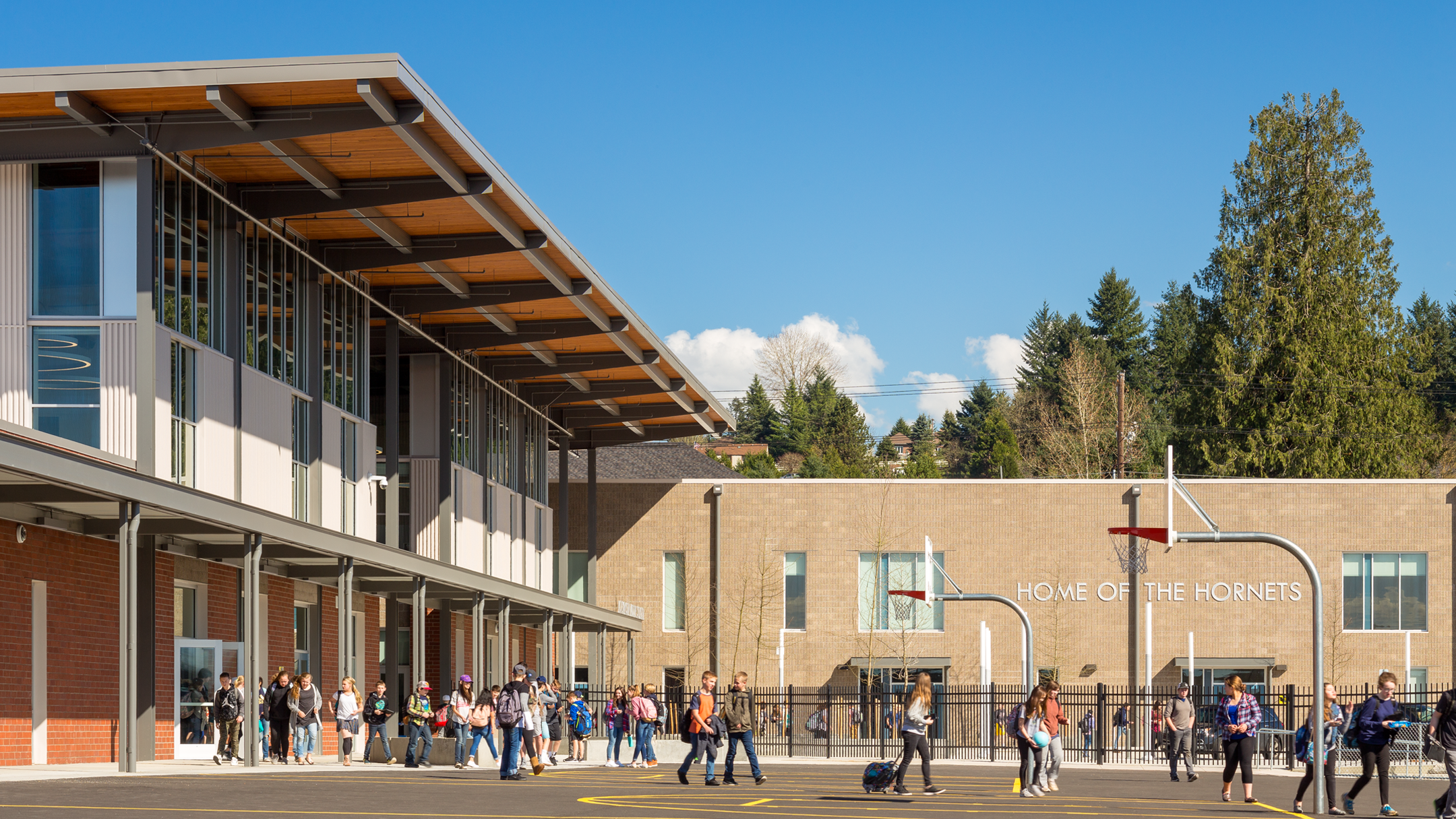 Hockinson Middle School; opened Sept. 2017